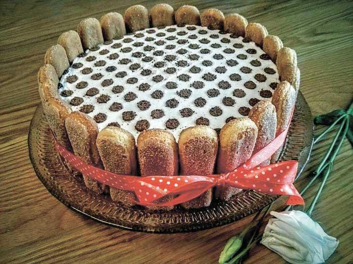 עוגת טרמיסו צילום פרטי