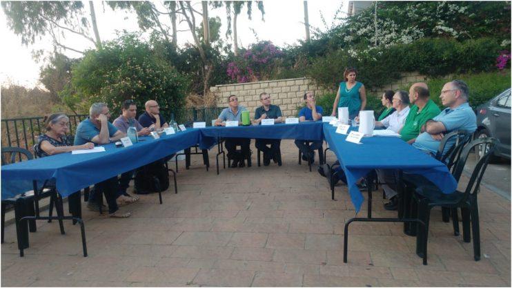 ישיבת הוועדה לאיכות הסביבה בשכונת האוניברסיטה