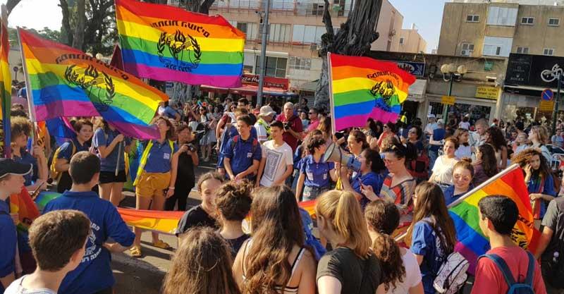 מצעד הגאווה ברעננה. צילום אור בוקר