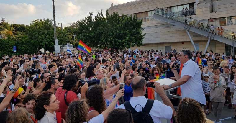 מצעד הגאווה ברעננה צילום אור בוקר
