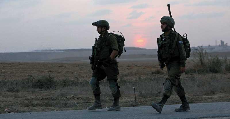 """חיילי צה""""ל צילום אליהו הרשקוביץ"""