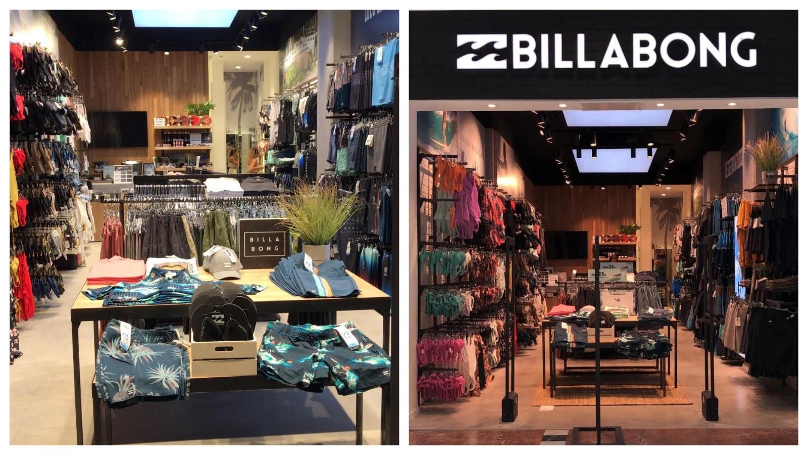 החנות החדשה של BILLABONG ברננים. קרדיט: ליאור ישראלי