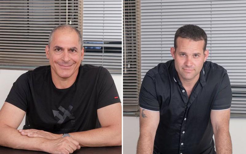 רואי דינוביץ ודודי גליקו. צילומים: יהודית הופמן