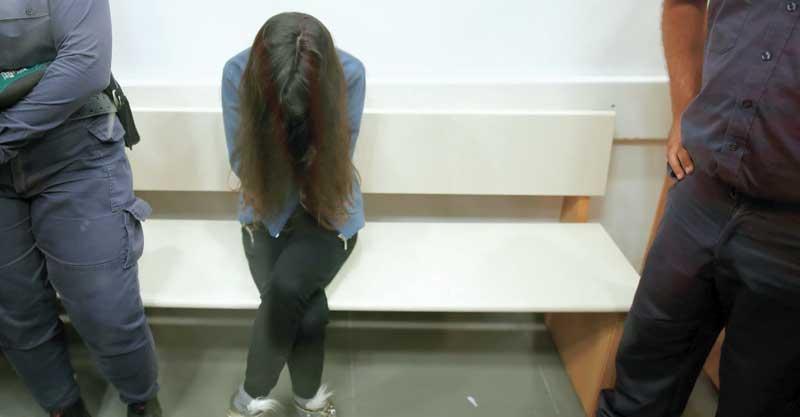 הגננת המתעללת כרמל מעודה בהארכת מעצר צילום אילן אסייג