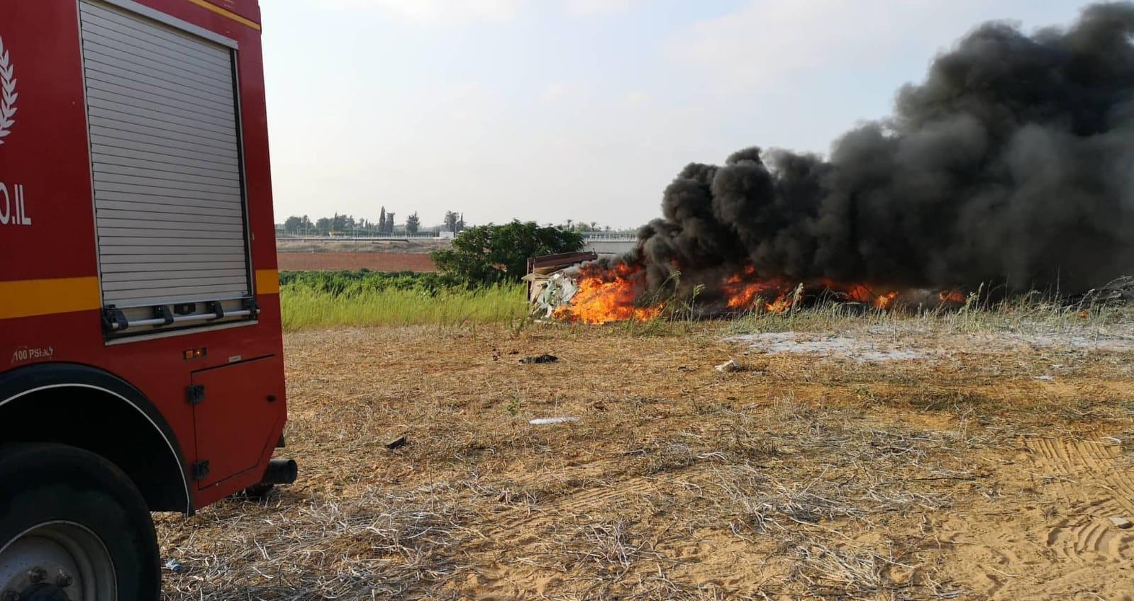 השריפה בסמוך לכפר נחמן בשלבי דעיכה