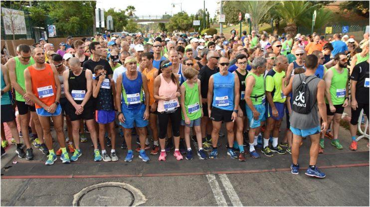 """המירוץ לזכר גלעד בוצר ז""""ל. קרדיט: ראול בלייכמן מריל טיימינג"""