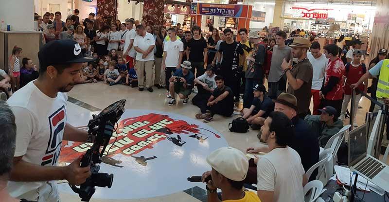 אליפות הברייקדאנס הארצית בפסטיבל תרבות הרחוב