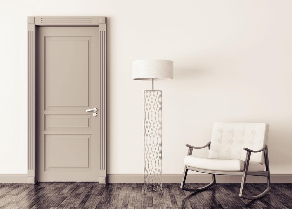 דלתות מעוצבות במרכז (Shutterstock) צילום: Designed doors