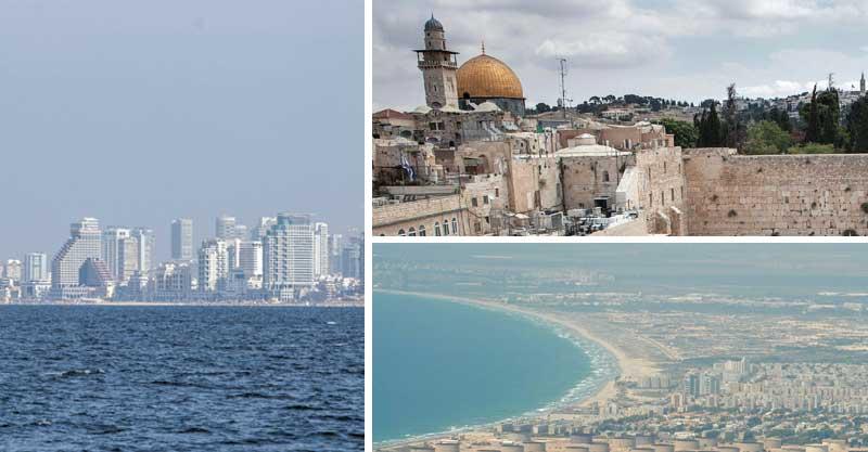 רק שאלה ירושלים צילום אמיל סלמן חיפה צילום דורון גולן תל אביב אייל טואג
