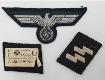 דרגות וסמלים של קצין אס אס. באדיבות פנטגון כספות
