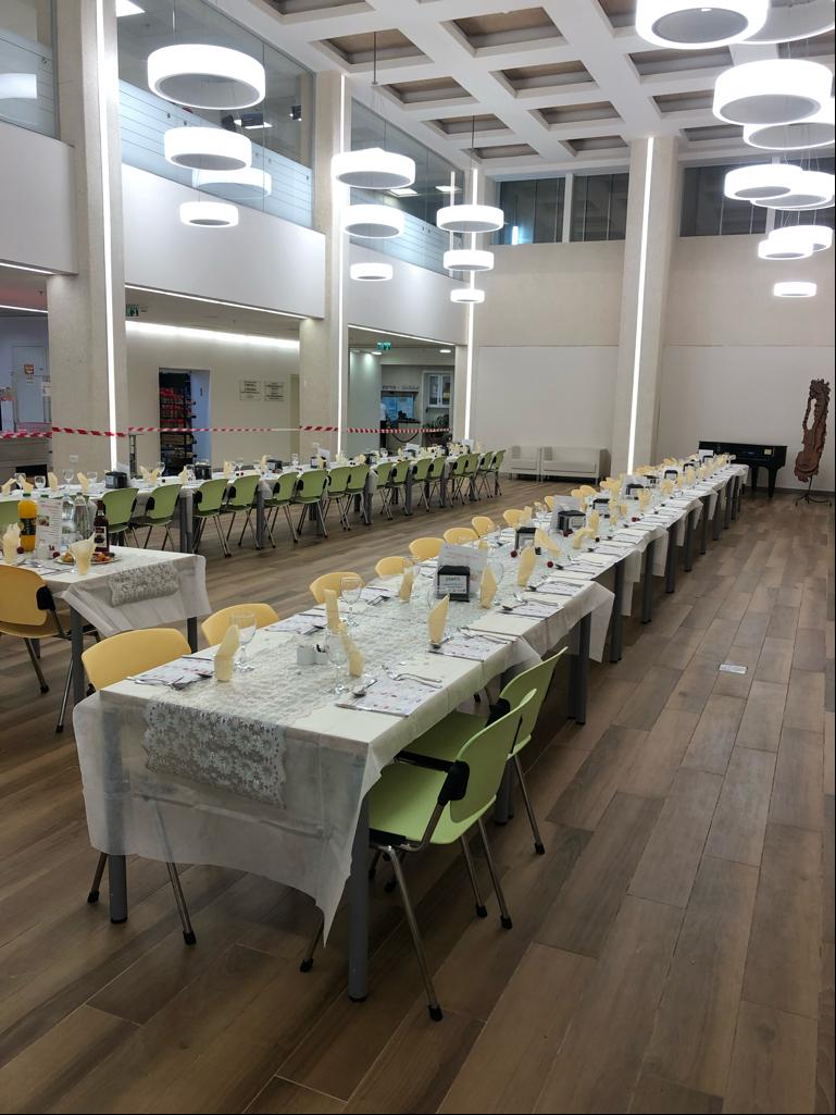 שולחן חג בבית החולים לוינשטיין. קרדיט: דוברת בית החולים לוינשטיין