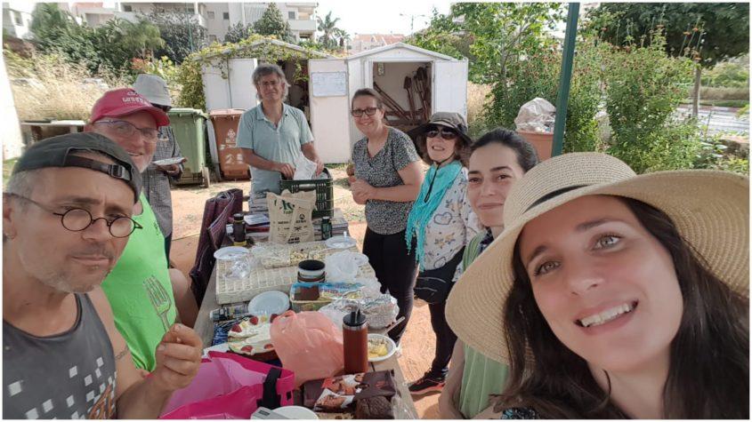 הגינה הקהילתית פעמונים, צילום: יעל רוזנבוים
