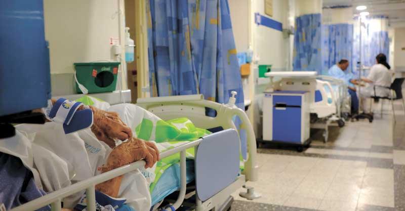 עומס בבתי חולים צילום תומר אפלבאום