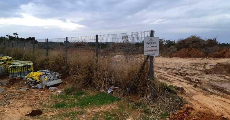 השטח עליו יקום פרויקט המחיר למשתכן ברחוב חייקה גרוסמן ברעננה