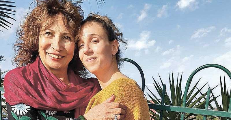 קרן וסבתה