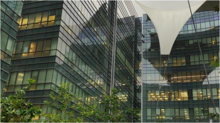בניין המשרדים ברחוב זרחין רעננה. קרדיט דוברות כבאות והצלה