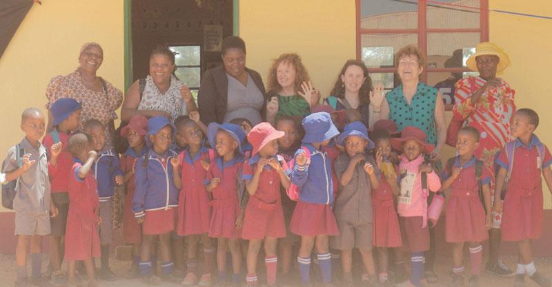 טקס פתיחת הכיתות המשופצות בבית הספר צילום Luckson Tsodzo