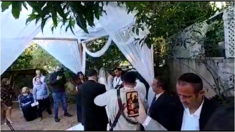 החתונה של אביב ואריאלה כהן