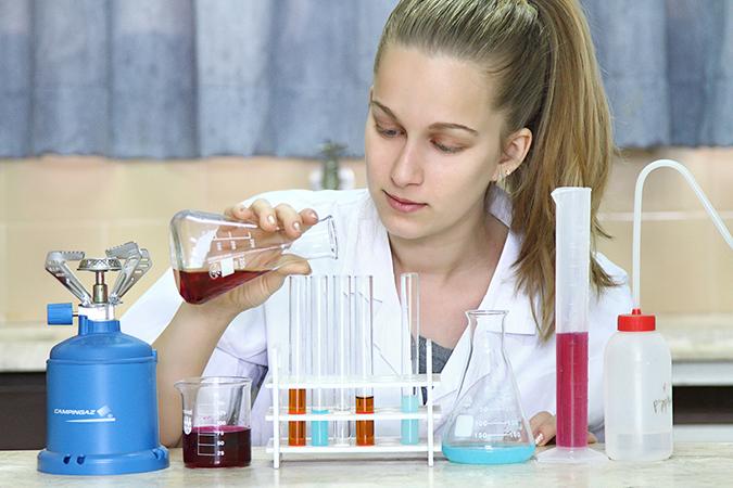 מקצועות המדעים. צילום: אופיר דוד
