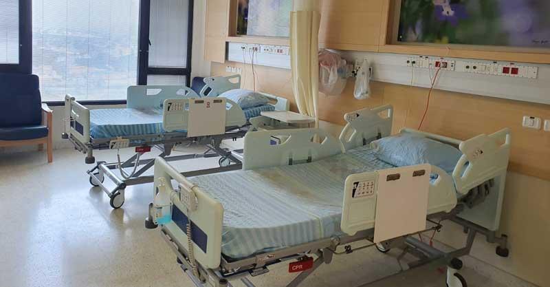 מחלקת קורונה 2 במרכז הרפואי מאיר. צילום באדיבות המרכז הרפואי מאיר