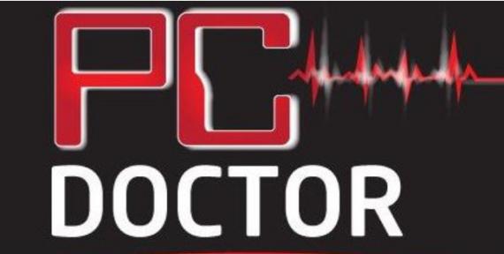 PC DOCTOR. לוגו באדיבות הלקוח