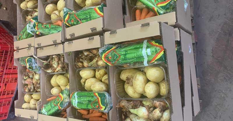 חבילות מזון של ארגון לקט ישראל. צילום ד״ר עירית גרטלר דוידוביץ