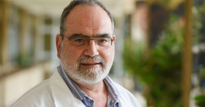 דוקטור חגי אמיר- מנהל בית החולים בית לוונישטין. צילום: אורן יזרעאל