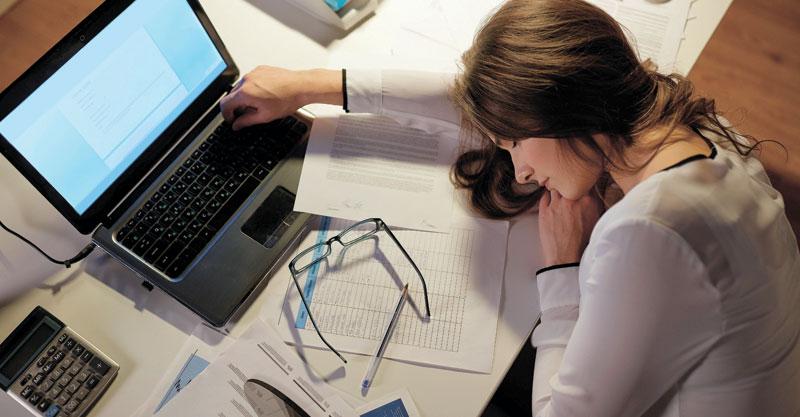 אישה עייפה.צילום אילוסטרציה א.ס.א.פ קריאייטיב/INGIMAGE